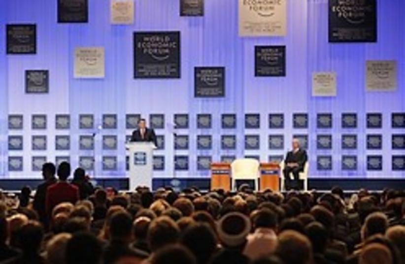jordan abdullah world economic forum (photo credit: AP)