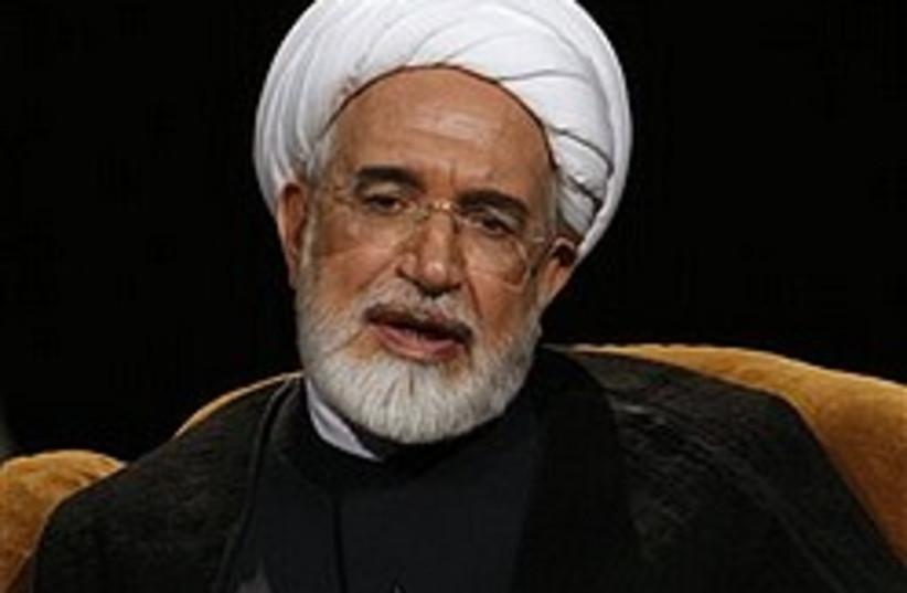 Mahdi Karroubi 248.88 (photo credit: AP)