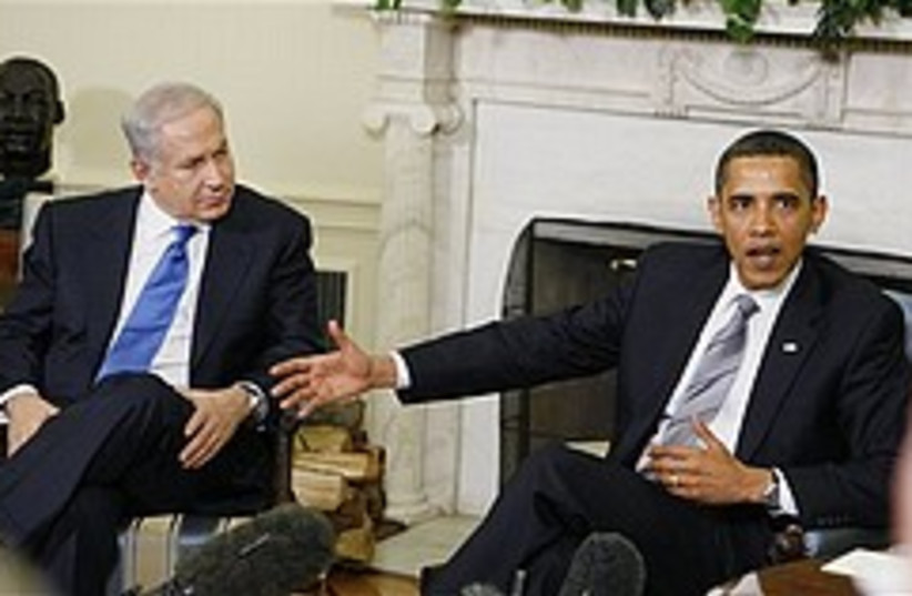 obama and netanyahu 248.88 (photo credit: )