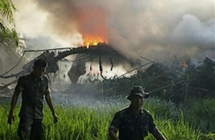 plane crash indonesia 248.88 ap (photo credit: AP)