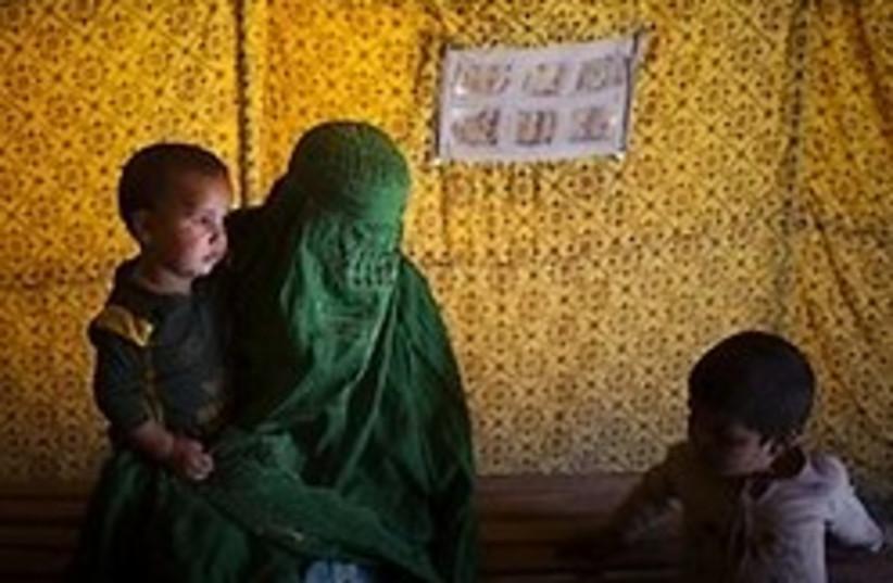 pakistani refugees 248.88 ap (photo credit: AP)