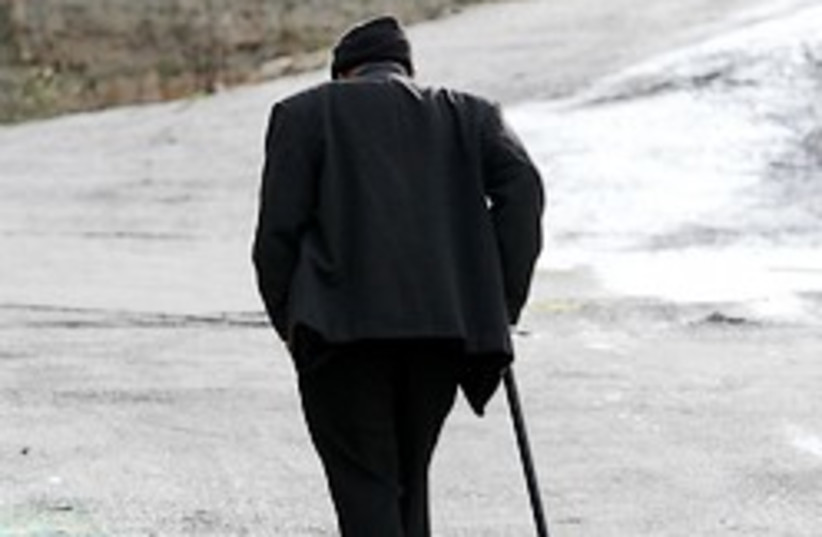 elderly old man cane 248 88 (photo credit: Ariel Jerozolimski)
