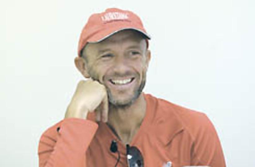 italian runner Max Calderan ap (photo credit: )