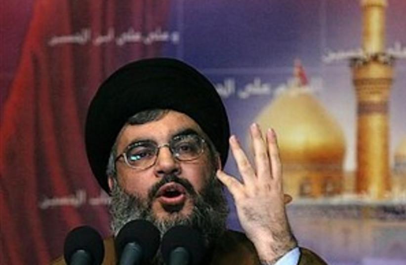 Nasrallah (photo credit: AP)