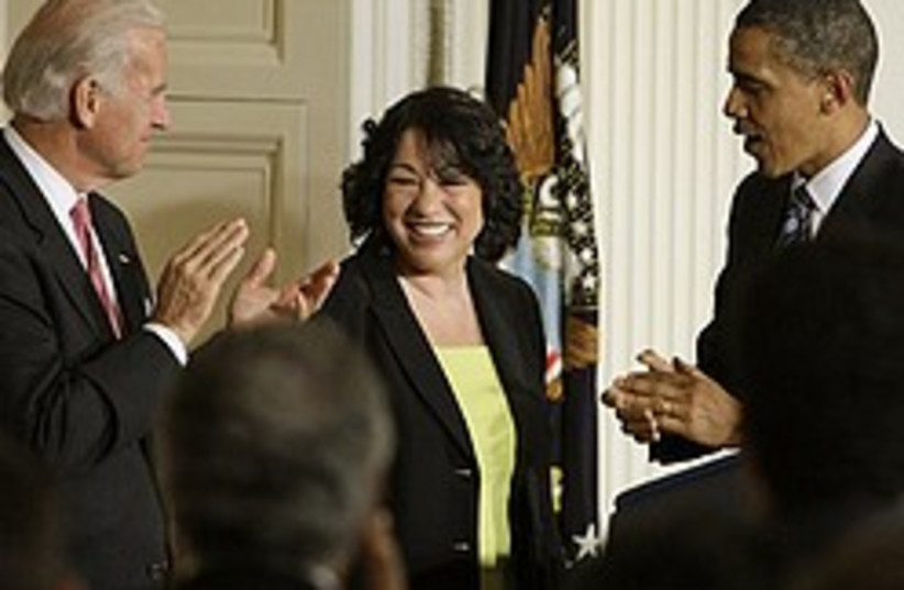 Sonia Sotomayor 248.88 (photo credit: AP)