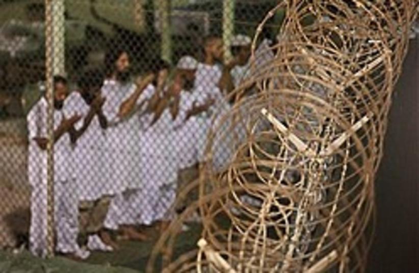 Guantanamo detainees 248.88 (photo credit: AP [file])