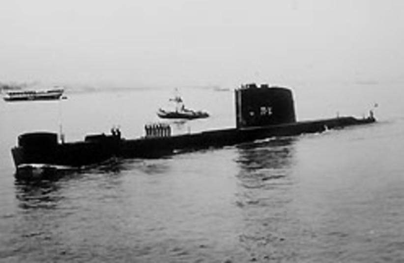 Dakar submarine 88 248 (photo credit: Jerusalem Post Archives)
