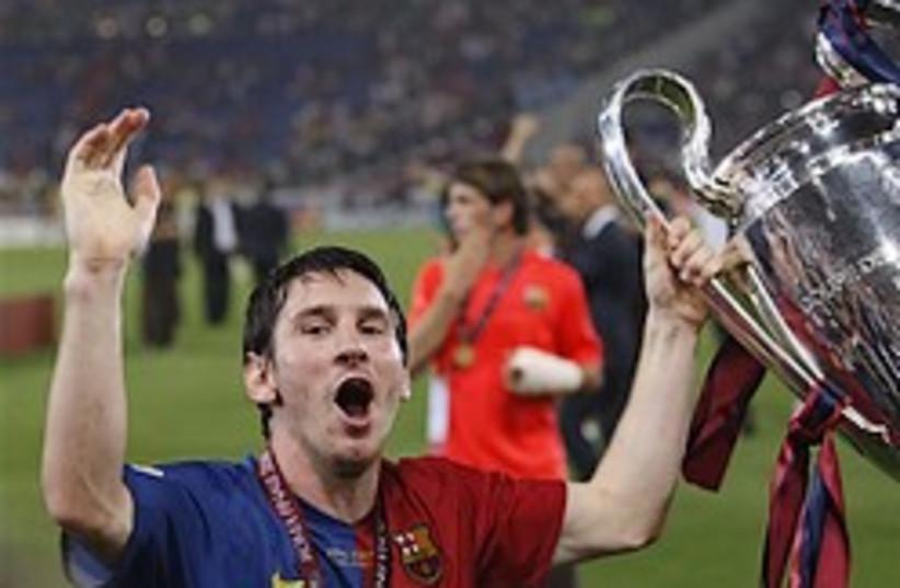 barcelona soccer messi lionel 248 (photo credit: )