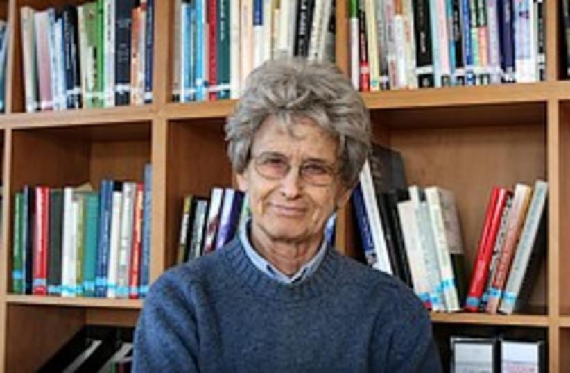 Prof. Ruth Gavison (photo credit: Ariel Jerozolimski)