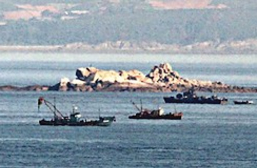 North Korean coast defense ship 248.88 (photo credit: AP)