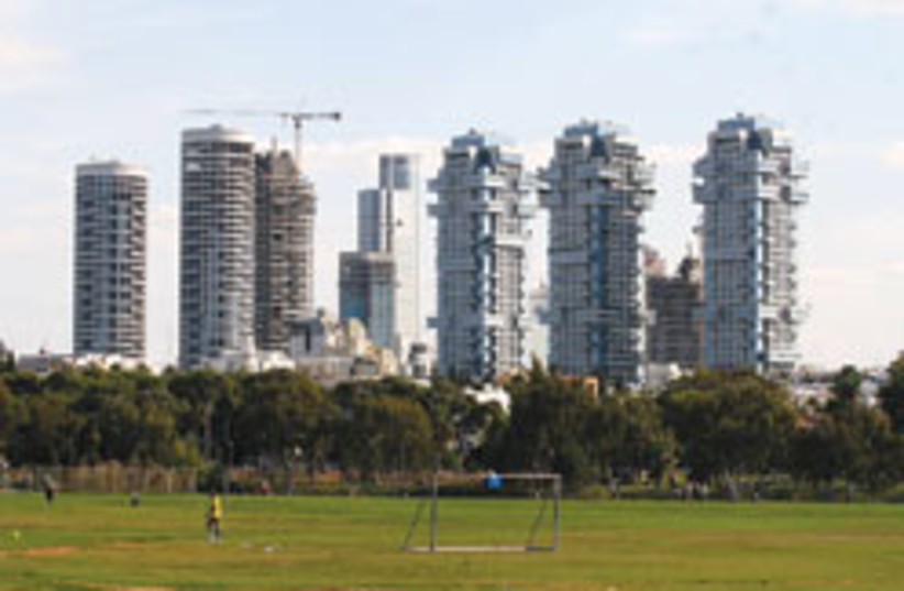 Tel Aviv skyline  (photo credit: Ariel Jerozolimski)