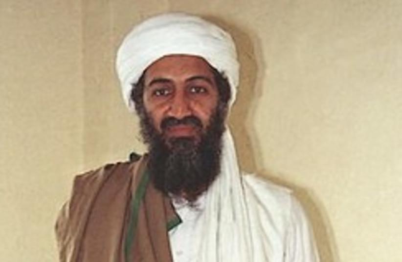 Bin Laden in Afghanistan 248.88 (photo credit: AP)
