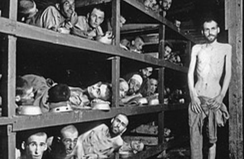 Buchenwald inmates 248.88 (photo credit: AP)