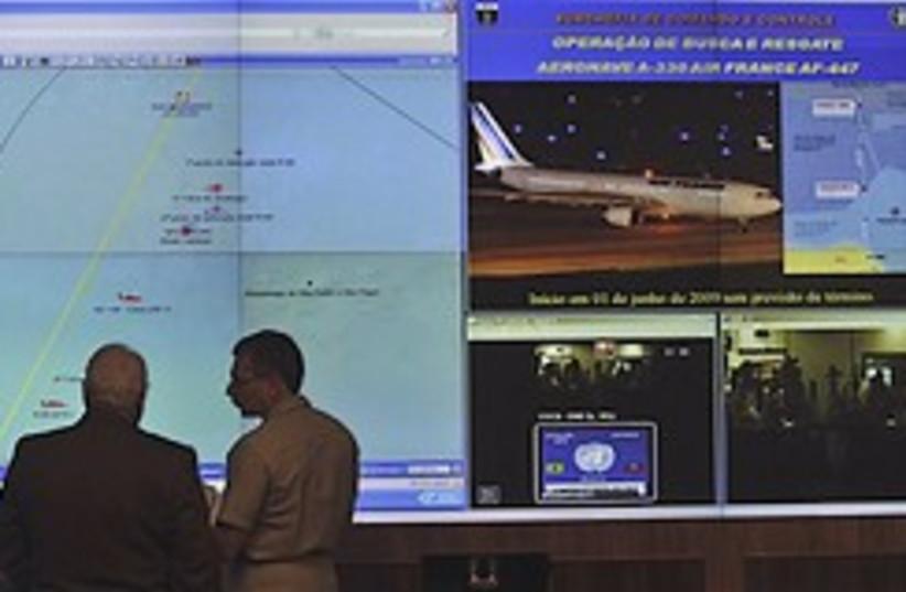 Brazil plane crash probe 248.88 (photo credit: AP)