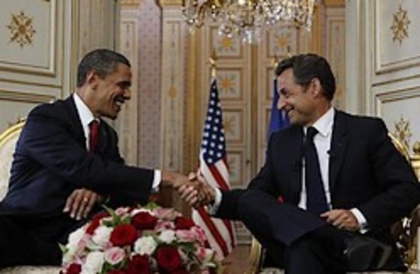 sarkozy obama shake hands 248 88  (photo credit: )