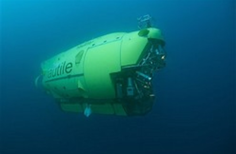 non military submarine 248.88 chck cpton (photo credit: AP)