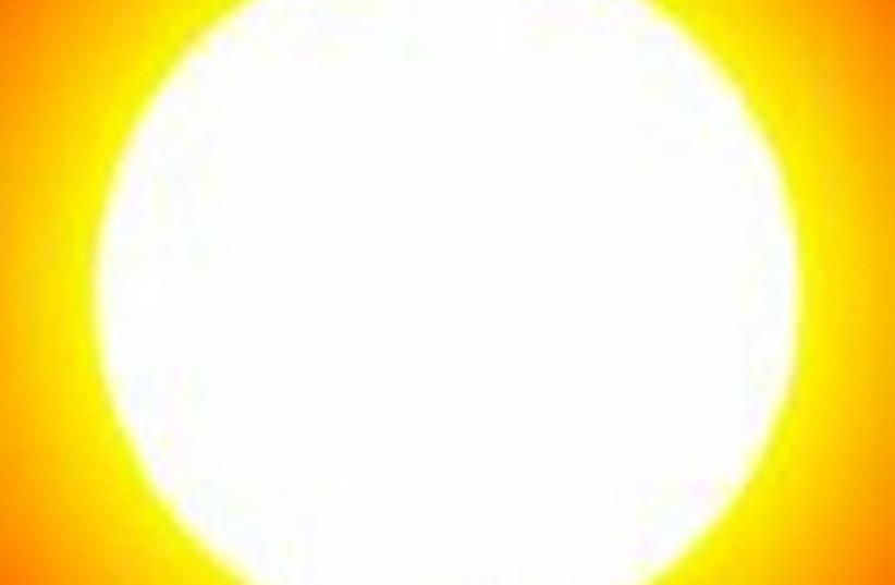 sun global warming 248.88 (photo credit: Courtesy)