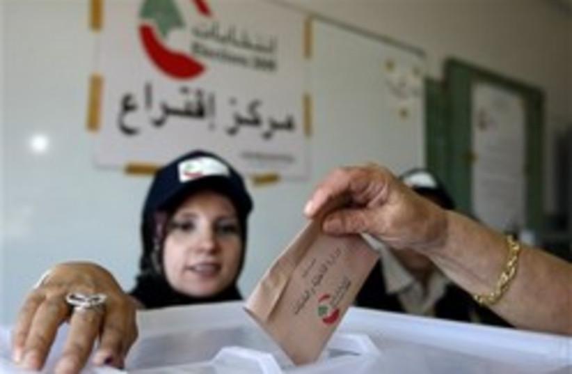 lebanese elections 248.88 (photo credit: AP)