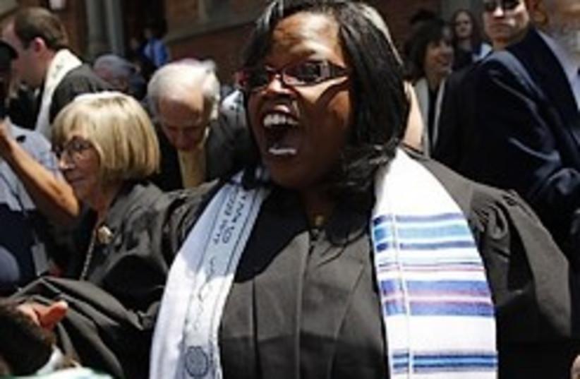 Alysa Stanton black rabbi 248.88 ap (photo credit: AP)