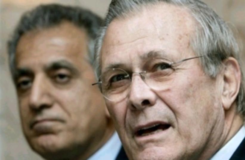rumsfeld 298.88 (photo credit: AP [file])