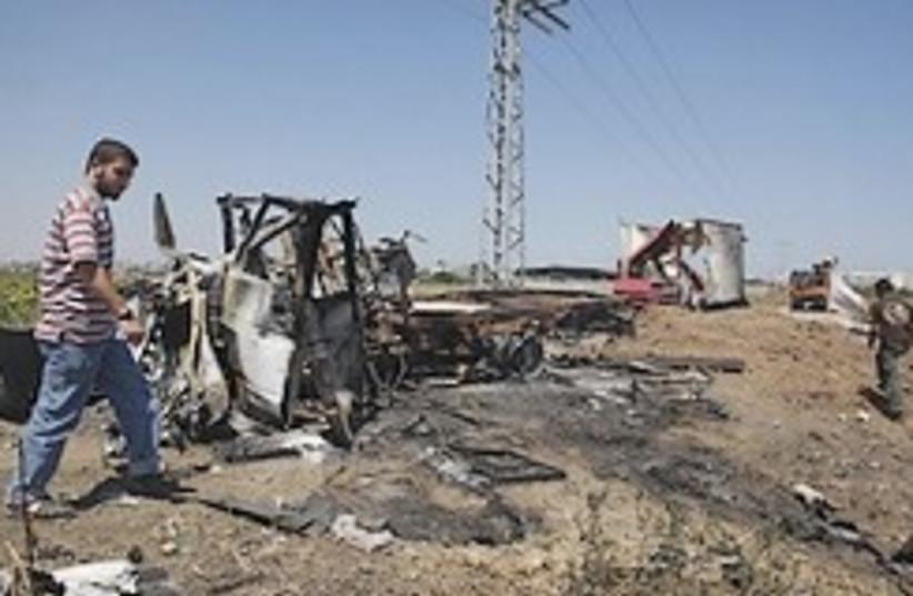 Gaza attack 248.88 (photo credit: AP)