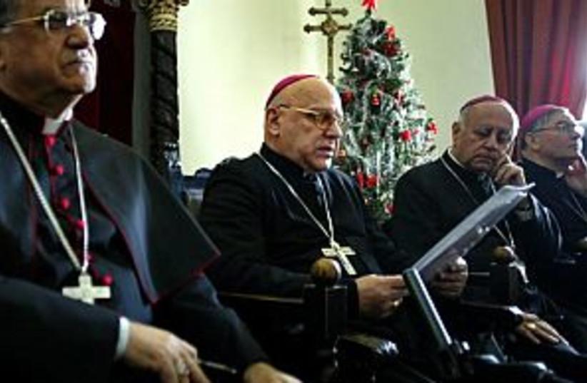 latin patriarch 298 (photo credit: AP)