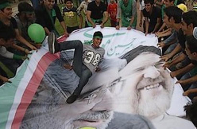 Khatami Mousavi 248.88 (photo credit: AP)
