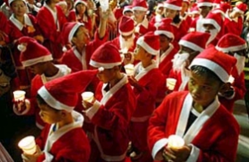 christmas santa kids 298 (photo credit: )