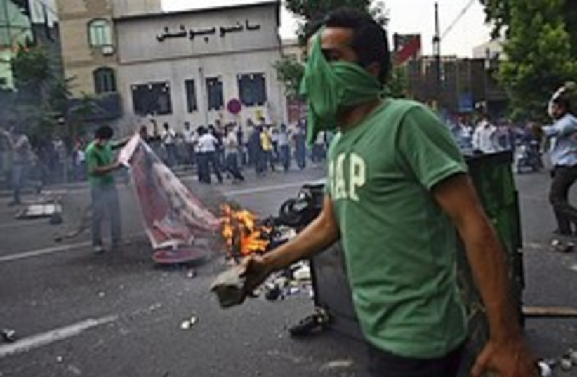 Iran protests 248.88 (photo credit: AP)