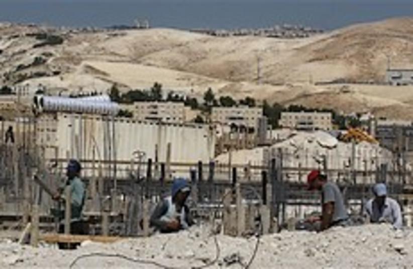 maaleh adumim construction 248.88 (photo credit: AP [file])