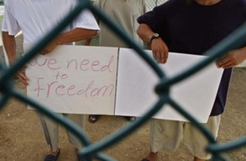 Guantanamo (photo credit: AP)