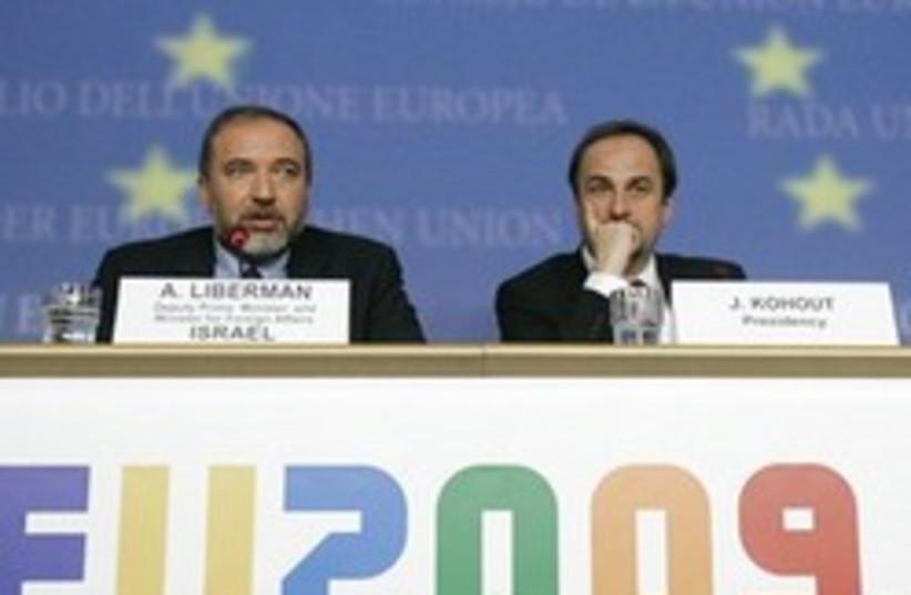 lieberman eu 248.88 (photo credit: AP)