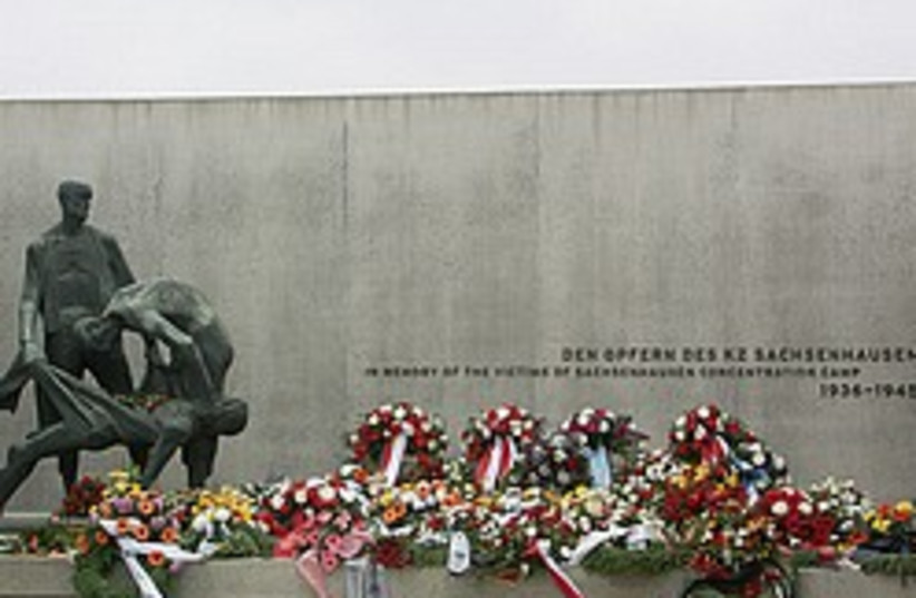 Sachsenhausen memorial 248.88 (photo credit: http://en.wikipedia.org/wiki/File:Sachsenhausen_Cr)