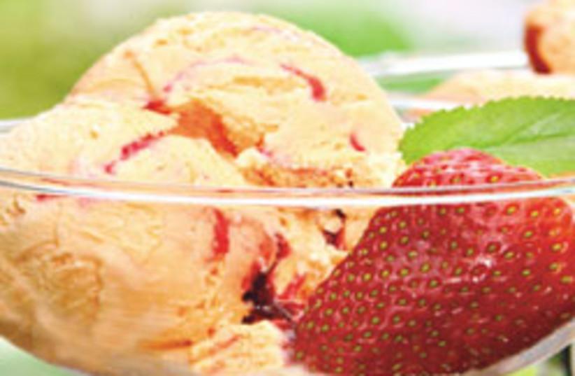 peach ice cream 88 248 (photo credit: Courtesy)