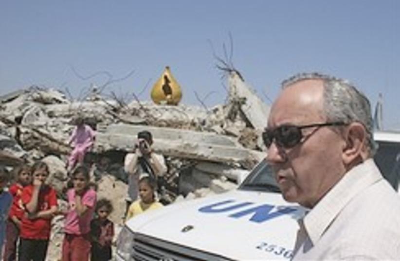 Goldstone in Gaza 248.88 (photo credit: AP [file])