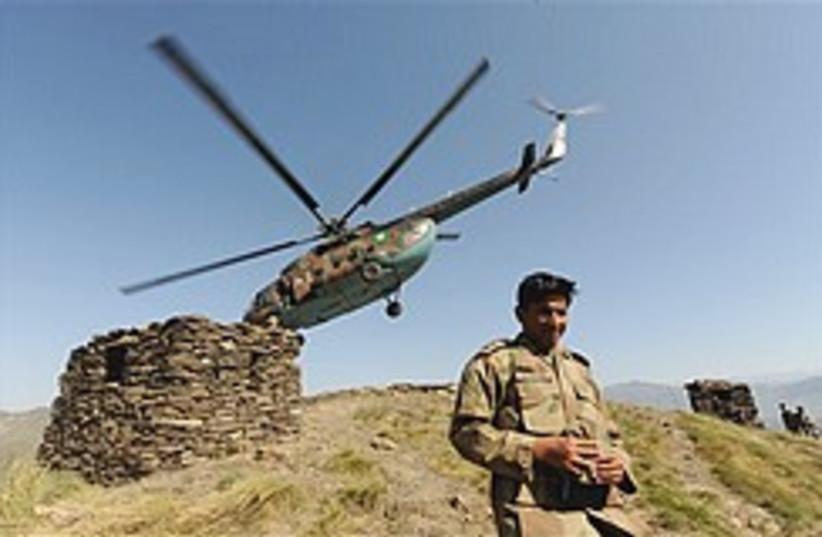 Pakistani army cool 248.88 (photo credit: AP)