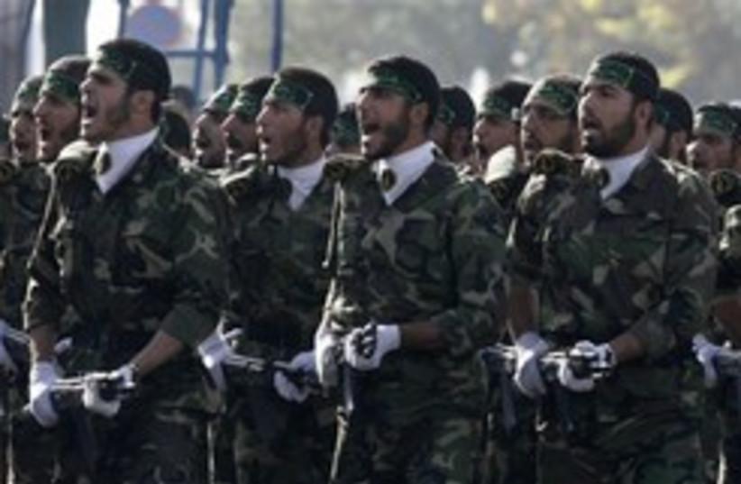 BASIJ  iran 248 88 (photo credit: AP)