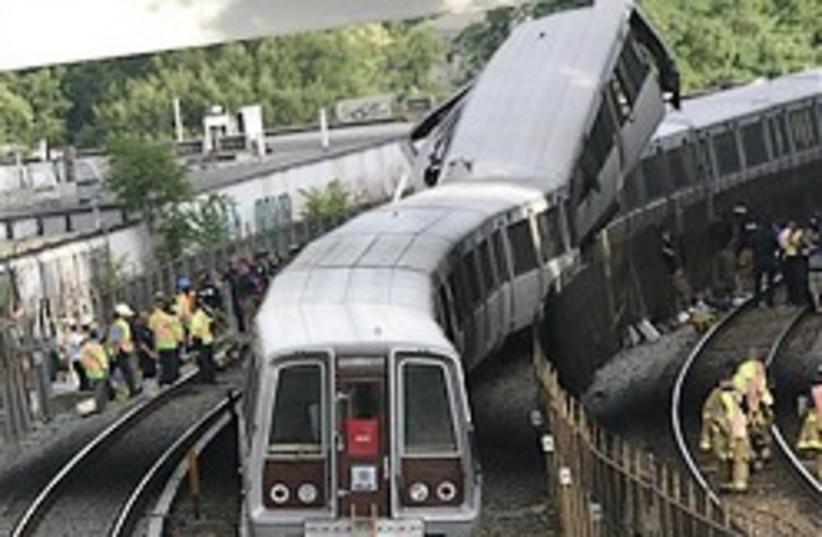 washington metro crash 248.88 (photo credit: AP)