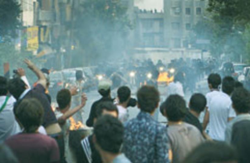 iran protest 88 248 (photo credit: )