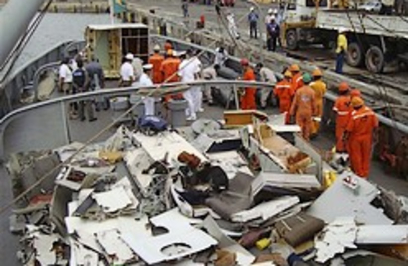 air france crash debris 248.88 (photo credit: AP)