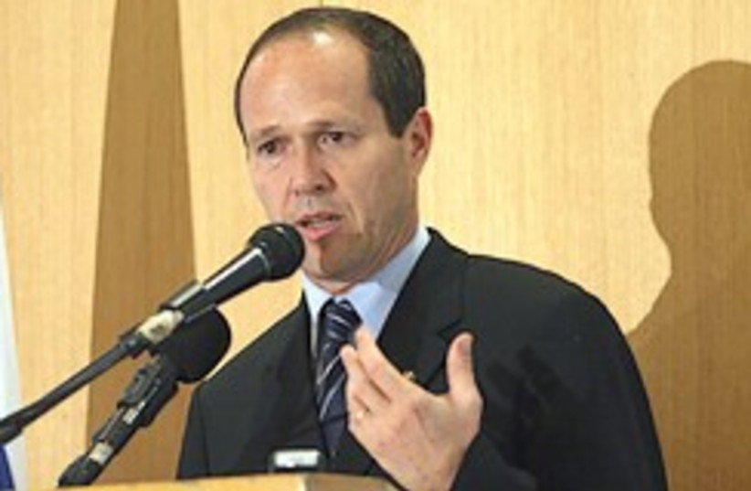 Barkat press conference 248.88 (photo credit: Ariel Jerozolimski )