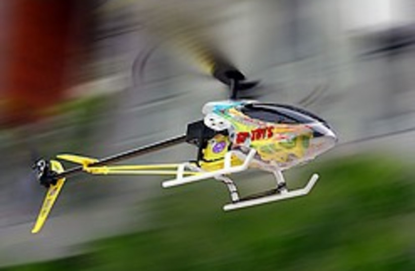 toy helicopter 248.88 (photo credit: Courtesy)