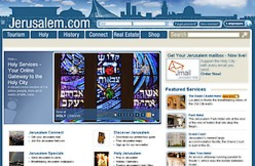 jerusalem dot com 248.88 (photo credit: Courtesy)