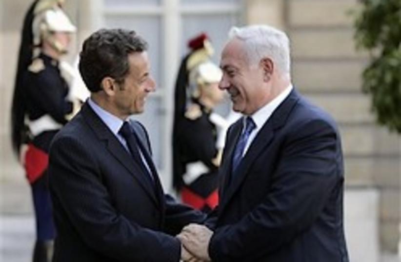 netanyahu sarkozy 248.88 (photo credit: AP [file])