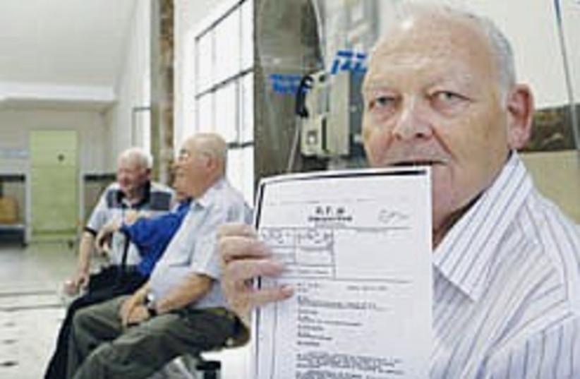 holocaust survivor hillinger 248.88 (photo credit: Ariel Jerozolimksi )
