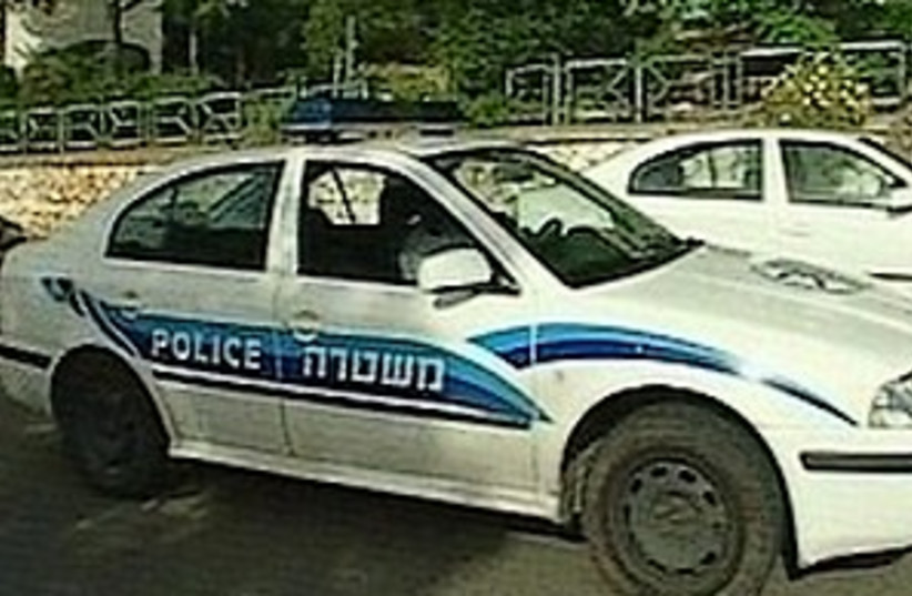 police voiture (photo credit: Channel 10)