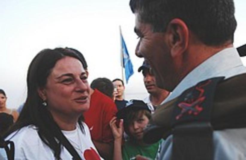 Ashkenazi Ilan Ramon wife 248.88 (photo credit: IDF)