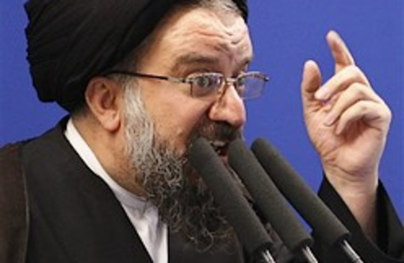 Ayatollah Ahmad Khatami 248.88 (photo credit: AP)