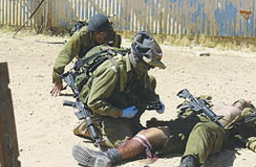 IDF medics in training 248.88 (photo credit: IDF )
