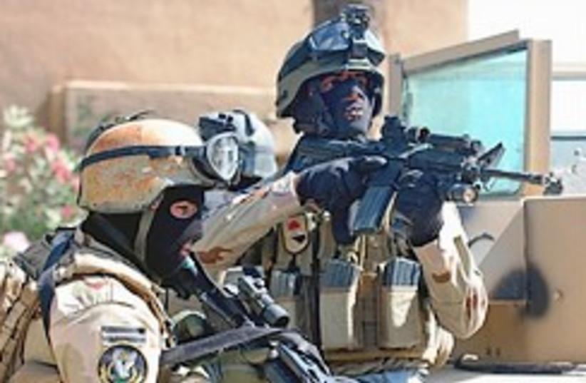 Iraqi forces 248.88  (photo credit: AP)